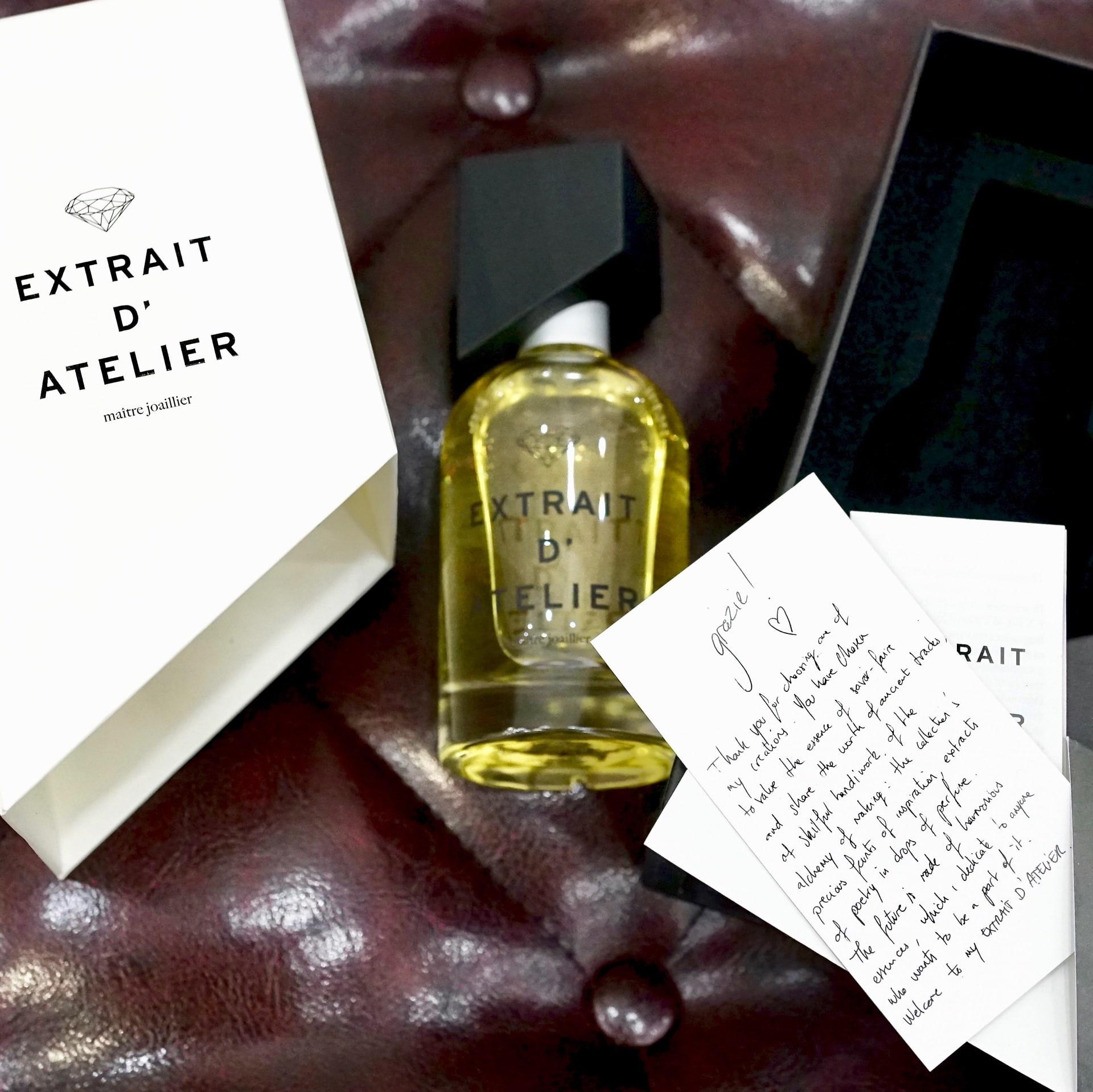 Ароматы Extrait D'Atelier